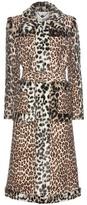 Stella McCartney Leopard-print Wool Coat