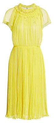 Jason Wu Collection Women's Silk Crinkle Chiffon Dress