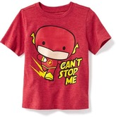 "Old Navy DC Comics The Flash ""Can't Stop Me"" Graphic Tee for Toddler Boys"
