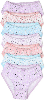 Marks and Spencer 7 Pack Cotton Floral Knickers (2-16 Yrs)