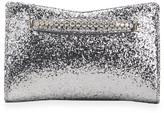 Jimmy Choo Venus Glitter Fabric Clutch Bag