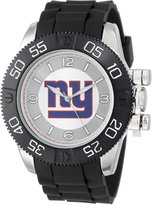Game Time Men's NFL-BEA-NYG Beast Round Analog Watch