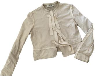 Chloé Ecru Leather Jackets