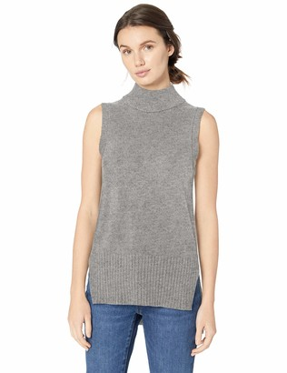 Daily Ritual Amazon Brand Women's Sleeveless Turtleneck Sweater