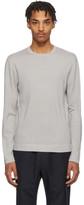 Ermenegildo Zegna Grey Knit Crewneck Sweater