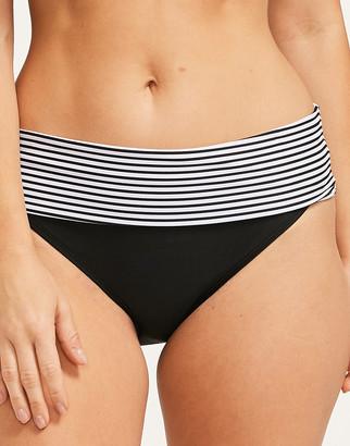 Panache Anya Stripe Fold Bikini Brief