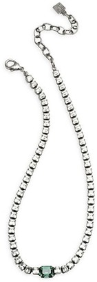 Dannijo Kitty Crystal Pendant Necklace