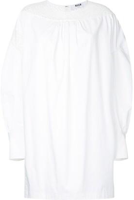 MSGM Longsleeved Shift Dress
