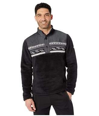 Spyder Wyre Half Snap Fleece Jacket (Black) Men's Coat