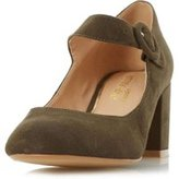 Dorothy Perkins Womens *Head Over Heels 'Arletta' Green Mid Heel Shoes- Green