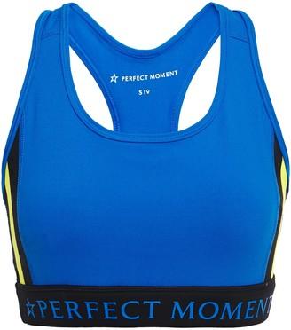 Perfect Moment Printed Stretch-leggings Sports Bra