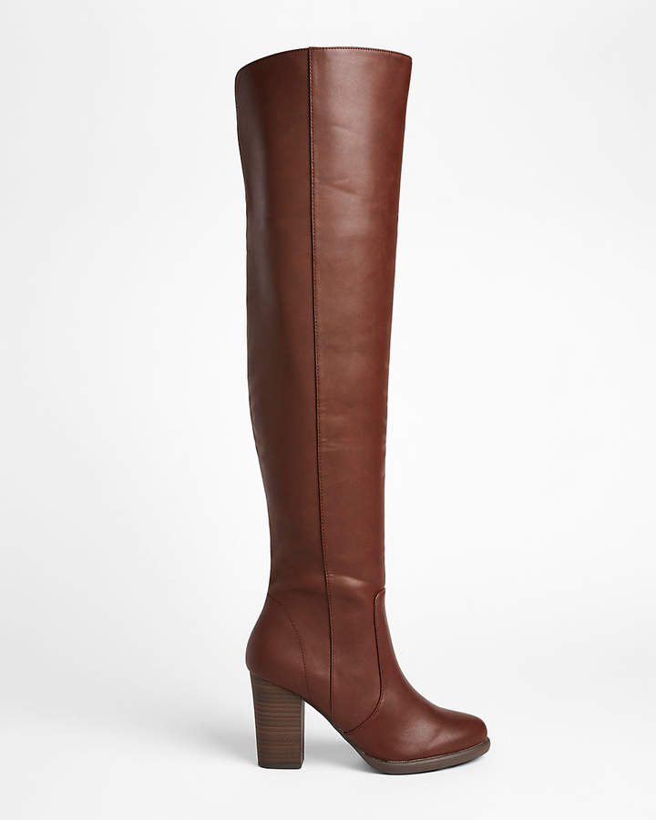 Express Heeled Over The Knee Boots