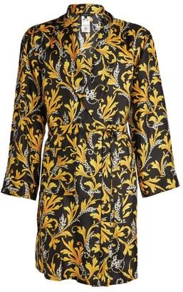 Versace Silk Barocco Robe