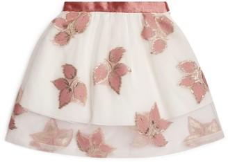 Hucklebones London Embellished Mini Skirt (2-12 Years)
