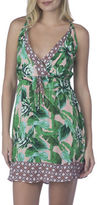 Sperry Tropical Print Short Dress