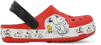 Crocs Snoopy Print Rubber