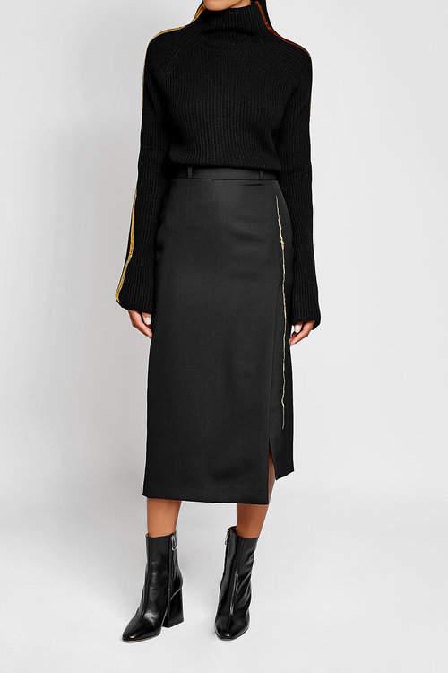 Haider Ackermann Wool Turtleneck Pullover with Cashmere