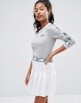 Reebok Classics Long Sleeve T-Shirt With Vector Arm Logo