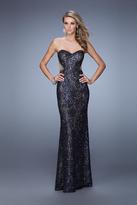 La Femme 20999 Glittering Sweetheart Sheath Dress