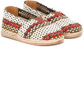 Baby Walker - boho espadrilles - kids - Cotton/Raffia/Leather/Polyester - 19