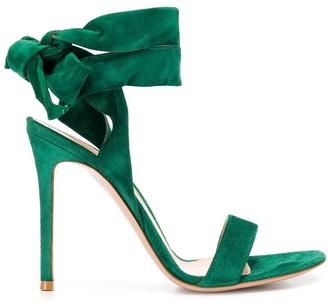 Gianvito Rossi Ankle Tie Sandals