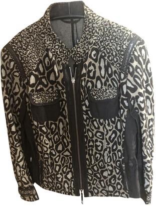 Basler Brown Cotton Jacket for Women