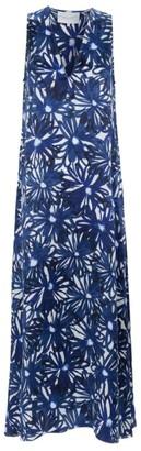 MARIE FRANCE VAN DAMME Floral Maxi Dress
