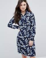 Brave Soul Floral Shirt Dress