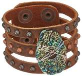 Leather Rock Serena Bracelet Bracelet