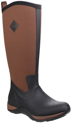 Muck Boots Arctic Adventure Wellington Boots - Black/Tan
