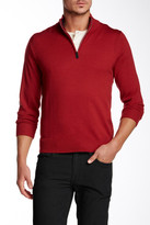 Tailorbyrd Washable Wool Zip Sweater