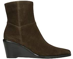 Vince Women's Mavis Suede Wedge Ankle Boots