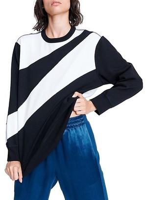 Rag & Bone Abstract Zebra Sweatshirt