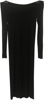 Enza Costa Black Viscose Dresses