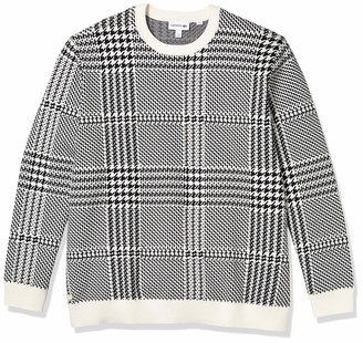 Lacoste Men's Jacquard Cashmere Blend Classic Sweater