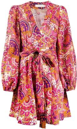 Zimmermann Paisley Shift Dress