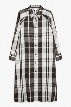 Monki Maxi shirt dress