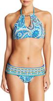 Trina Turk Provence High Neck Bikini Top