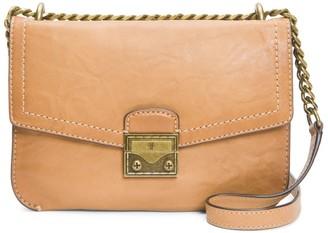 Frye Ella Leather Crossbody Bag