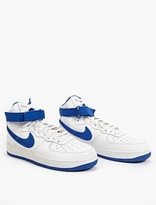 Nike White Air Force 1 Hi Retro QS Sneakers