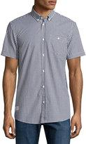 Wesc Gert Short-Sleeve Button-Front Shirt, Black