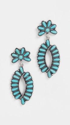 Shashi Turquoise Earrings