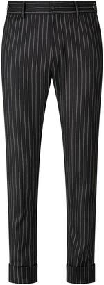 Dolce & Gabbana Pinstripe Wool Trousers