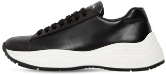 Prada America's Cup Xl Leather Sneakers