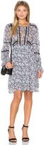 Marissa Webb Bella Print Mini Dress