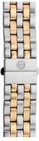 Michele 'Urban Mini' 16mm Two-Tone Bracelet Watchband