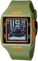 Vestal Unisex BRG029 Brig Digital Display Quartz Green Watch