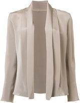 Peter Cohen - relaxed fit blazer - women - Silk - XS