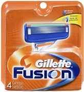 Gillette Fusion Manual Refill Cartridges, - Packaging May Vary