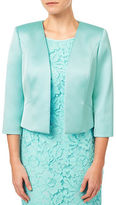 Jacques Vert Petite Sateen Edge to Edge Jacket